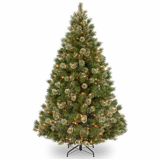 National Tree Co. 7 1/2 Foot Wispy Willow Grande Pre-Lit Christmas Tree