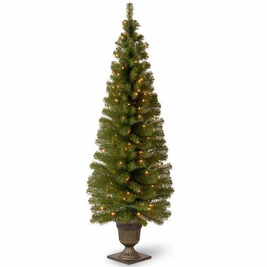 national tree co 6 foot montclair spruce pre lit christmas tree - 6 Pre Lit Christmas Tree