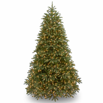 National Tree Co. 7 1/2 Foot Jersey Frasier Fir Fir Pre-Lit Christmas Tree