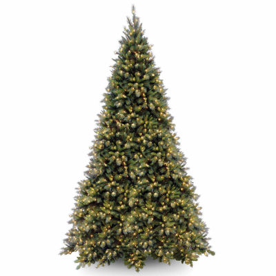 National Tree Co. 12 Foot Tiffany Fir Pre-Lit Christmas Tree