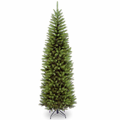 National Tree Co. 7 Foot Kingswood Fir Hinged Pencil Fir Christmas Tree
