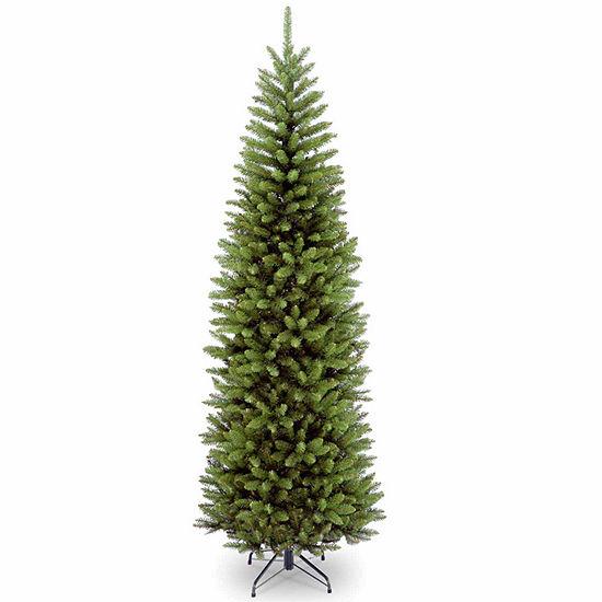 National Tree Co. 7 Foot Kingswood Fir Hinged Pencil Fir Christmas Tree