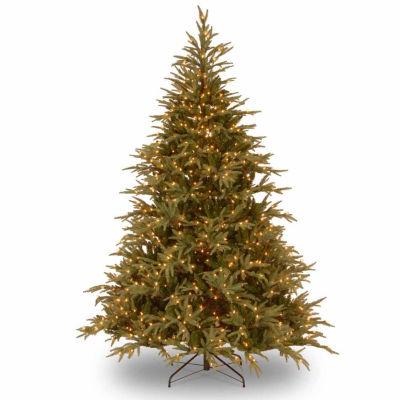National Tree Co. 9 Foot Frasier Grande Hinged Pre-Lit Christmas Tree