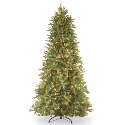 National Tree Co. 6 1/2 Foot Tiffany Fir Slim Pre-Lit Christmas Tree