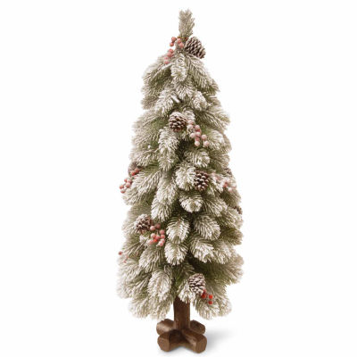 National Tree Co. 2 Foot Snowy Bayberry Spruce Christmas Tree