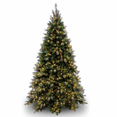 National Tree Co. 9 Foot Tiffany Fir Pre-Lit Christmas Tree