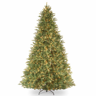 National Tree Co. 9 Foot Tiffany Fir Fir Pre-Lit Christmas Tree