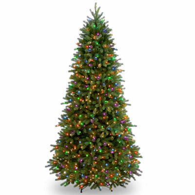 National Tree Co. 7 1/2 Foot Jersyey Fraser Slim Fir Pre-Lit Christmas Tree