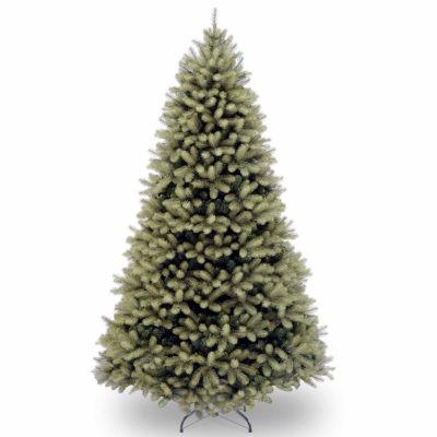 "National Tree Co. 7 1/2 Foot ""Feel-Real"" Downswept Douglas Fir Hinged Christmas Tree"