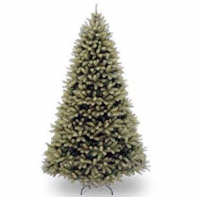 "National Tree Co. 7 Foot Feel-Real"" Downswept Douglas Fir Hinged"" Christmas Tree"