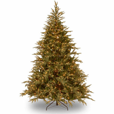 National Tree Co. 6 Foot Frasier Grande Hinged Pre-Lit Christmas Tree