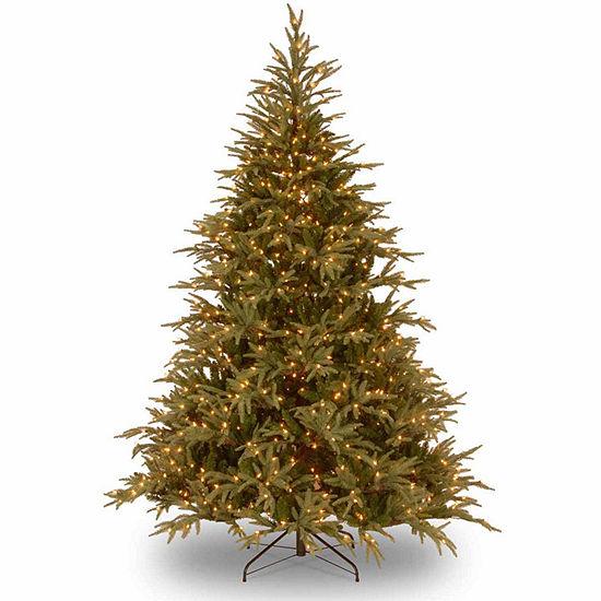 National Tree Co. 6 Foot Frasier Grande Hinged Fir Pre-Lit Christmas Tree