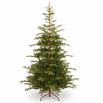 National Tree Co. 7 1/2 Foot Norwedgian Spruce Hinged Spruce Christmas Tree
