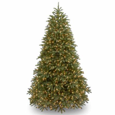 National Tree Co. 7 1/2 Foot Jersey Frasier Fir Fir Pre-Lit Christmas Tree