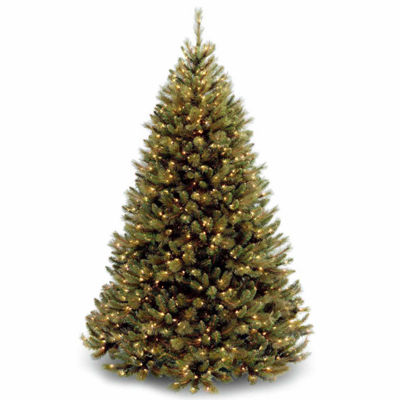 National Tree Co. 7 1/2 Foot Rocky Ridge Pre-Lit Christmas Tree