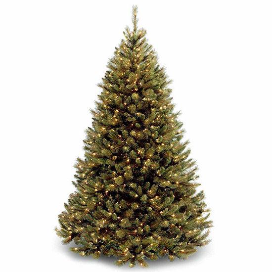 National Tree Co. 7 1/2 Foot Rocky Ridge Pre-Lit Christmas Tree