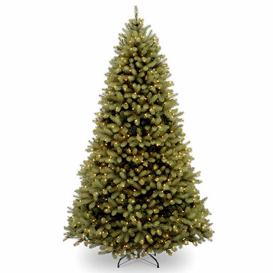 National Tree Co. 6 Foot Downswept Douglas Fir Hinged Fir Pre-Lit Christmas Tree