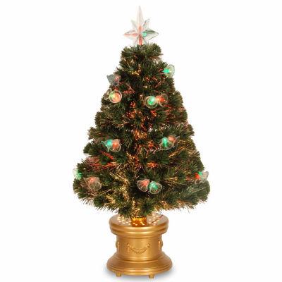 National Tree Co. 3 Foot Fireworks Pre-Lit Christmas Tree