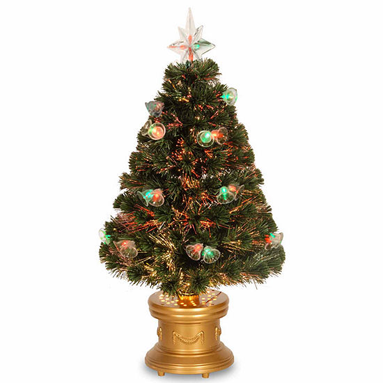 Jc Penney Christmas Trees: National Tree Co. 3 Foot Fireworks Pre-Lit Christmas Tree
