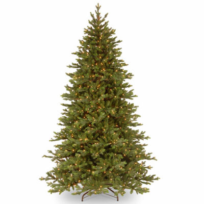 National Tree Co. 7 1/2 Foot Yukon Fir Fir Pre-Lit Christmas Tree