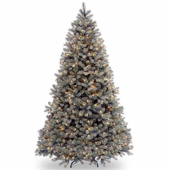 National Tree Co. 7 1/2 Foot Fir Pre-Lit Christmas Tree