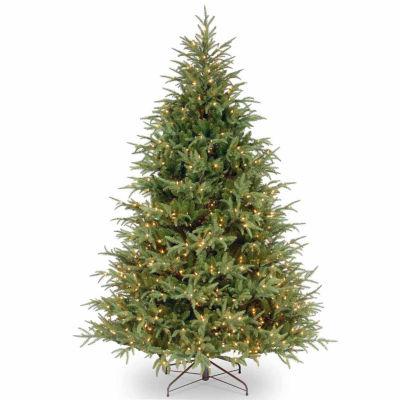 National Tree Co. 7 1/2 Foot Frasier Grande Hinged Pre-Lit Christmas Tree