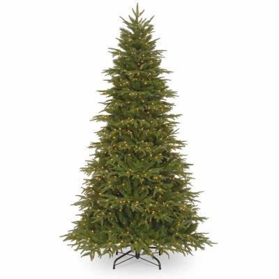 National Tree Co. 7 1/2 Foot Northern Frasier Hinged Pre-Lit Christmas Tree
