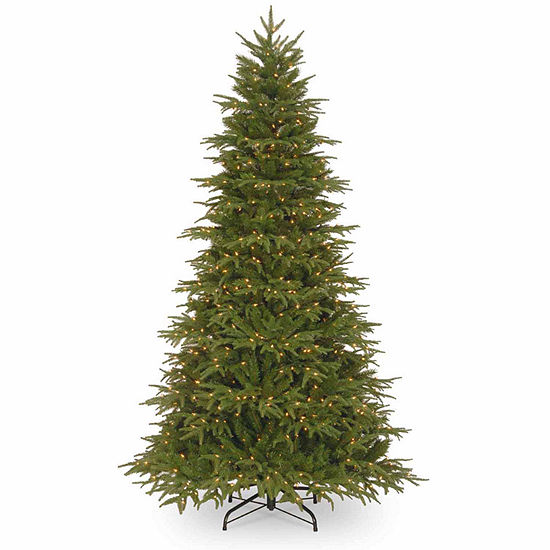 National Tree Co. 7 1/2 Foot Northern Frasier Hinged Fir Pre-Lit Christmas Tree
