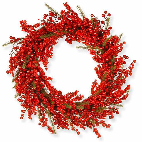 National Tree Co. Berries Indoor/Outdoor Christmas Wreath