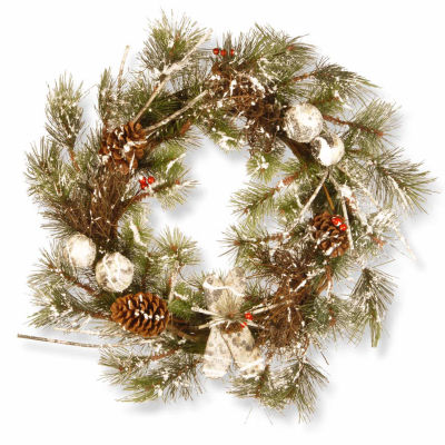 National Tree Co. Pine Cones And Evergreen Indoor/Outdoor Christmas Wreath