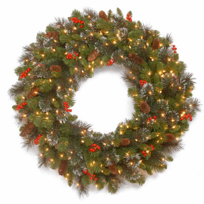 National Tree Co. Crestwood Spruce Indoor/Outdoor Christmas Wreath