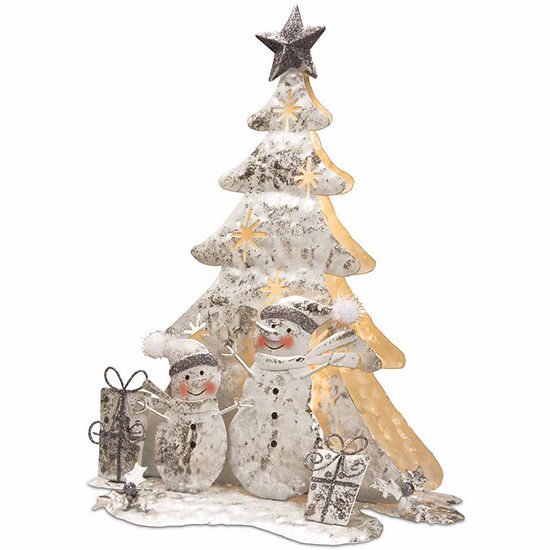 National Tree Co. White Wire Tabletop Decor