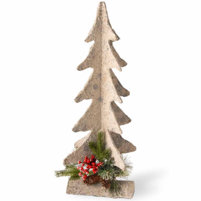 National Tree Co. 2 Foot Wood Base Christmas Tree