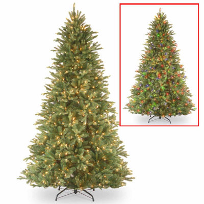 National Tree Co. 7 1/2 Foot Tiffany Fir Pre-Lit Christmas Tree