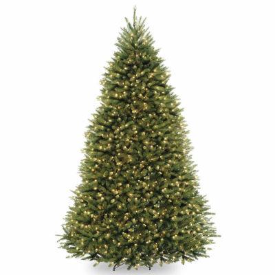 National Tree Co. 9 Foot Dunhill Fir Fir Pre-Lit Christmas Tree