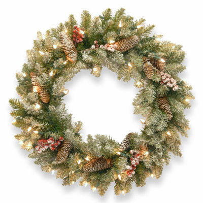 National Tree Co. Dunhill Fir Indoor/Outdoor Christmas Wreath