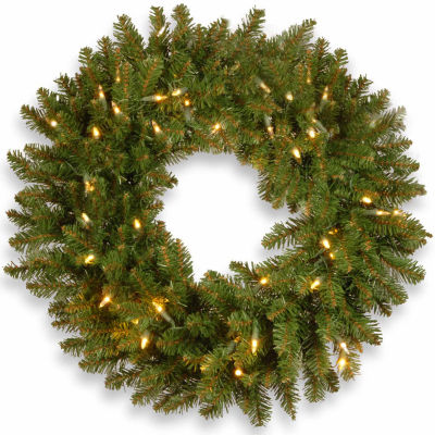 National Tree Co. Kingswood Fir Indoor/Outdoor Christmas Wreath