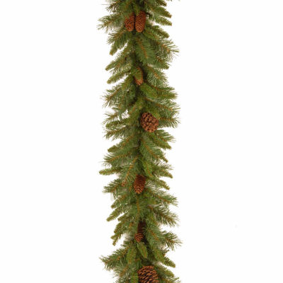 National Tree Co. Pine Cone And Mixed Branch Tips Indoor/Outdoor Christmas Garland