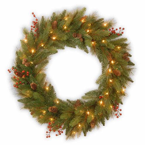 National Tree Co. Long Needle Pine Indoor/Outdoor Christmas Wreath