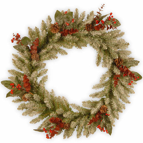 National Tree Co. Eucalyptus Indoor/Outdoor Christmas Wreath