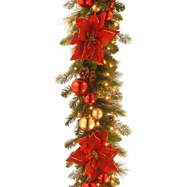 National Tree Co. Home For The Holidays Christmas Garland
