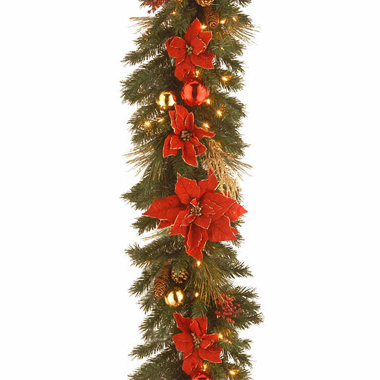 National Tree Co. Home Spun Indoor/Outdoor Christmas Garland