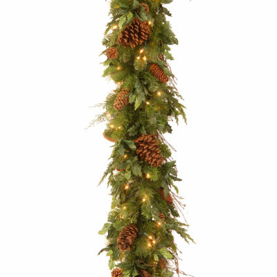 National Tree Co. Juniper Mix Pine Indoor/Outdoor Christmas Garland