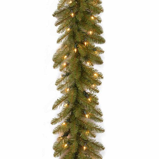 National Tree Co. Dunhill Fir Indoor/Outdoor Christmas Garland