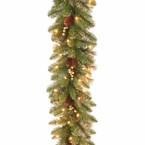 National Tree Co. Glittery Gold Pine Christmas Garland