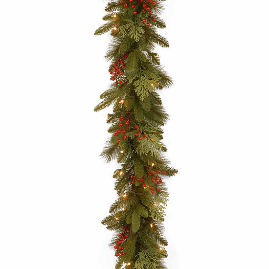 National Tree Co. Classical Collection Feel Real Indoor/Outdoor Christmas Garland