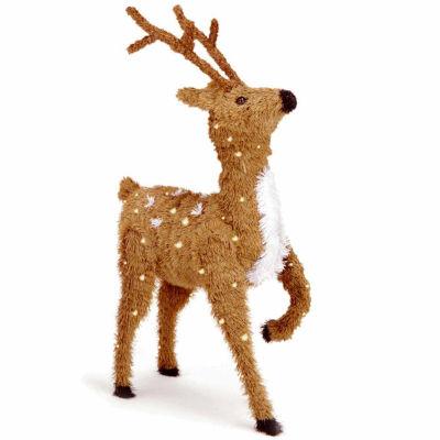 National Tree Co. Reindeer Christmas Holiday Yard Art