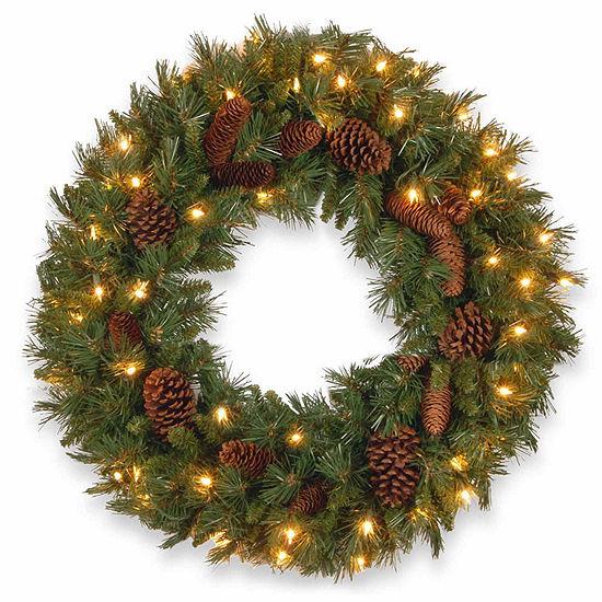 National Tree Co. Pine Cone Indoor/Outdoor Christmas Wreath