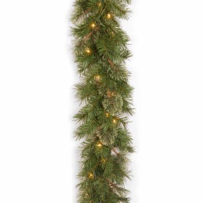 National Tree Co. Atlanta Spruce Indoor/Outdoor Christmas Garland