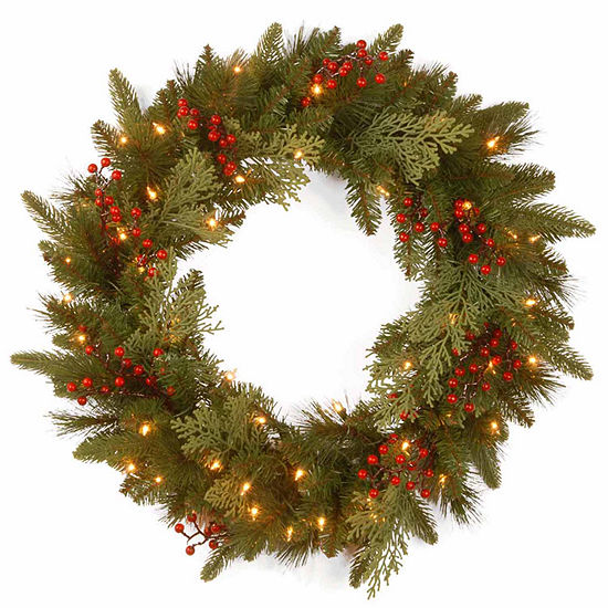 National Tree Co. Classical Collection Feel Real Indoor/Outdoor Christmas Wreath